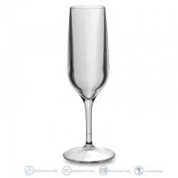 Single champagne flute 15cl