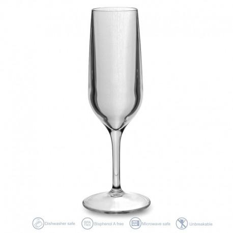 Single champagne flute 15cl
