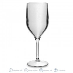 Single wine glass 25cl