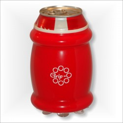 Red Mini Grip-O with 330ml can